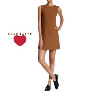 Theory Helena shift dress in Pioneer - Sz 8 NWT